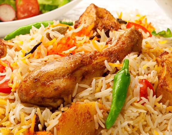Recipe for making Large Tray of Chicken Biryani