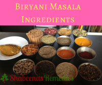 Grind Biryani spices into powder